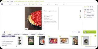 logiciel de recette de cuisine idée créer livre de recettes personnalisé