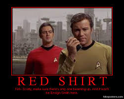 Red Shirt Star Trek Meme - de motivational star trek by myvisionisdying on deviantart