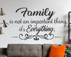 Family Rules Wall Decal Family Decal Living Room Wall Decor - Family room quotes