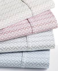 closeout sorrento print 6 pc sheet sets 500 thread count