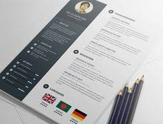 Create A Resume For Free 30 Free U0026 Beautiful Resume Templates To Download Cv Maken
