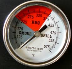 Backyard Grill Thermometer by Bbq Pro Temp Barbecue Grill Thermometer Smoker Thermostat