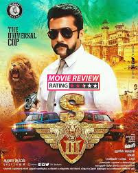 singam 3 movie review suriya is the only saving grace of this cop