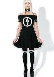 killstar gloom bardot cheerleader dress dolls kill