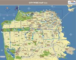 Downtown San Francisco Map by 49 Mile Scenic Drive Maplets