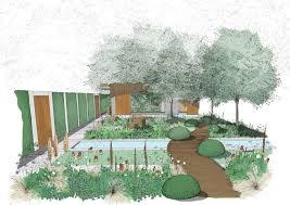 adam frost brings bauhaus inspired community garden to rhs chelsea