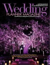 wedding planner magazine ofd pw and blue steel lighting design - Wedding Planner Magazine
