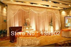 Curtain Drapes For Weddings 6m 20ft W X3m 10ft H Event Services Stage Curtain Drapes Wedding