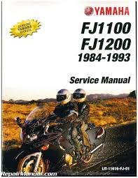 1984 1993 yamaha fj1100 fj1200 motorcycle service manual