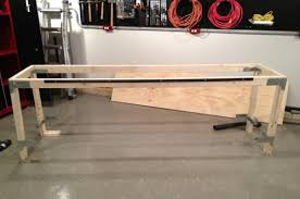 Solid Core Door Desk How To Build A Heavy Duty Workbench One Project Closer