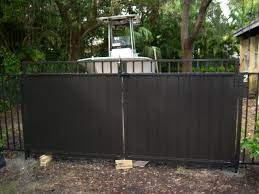 fence corp miami aluminum and iron fences and gates