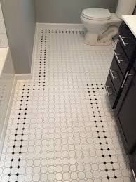 Black Sparkle Floor Tiles For Bathrooms Awesome Black And White Octagon Bathroom Floor Tile On Home