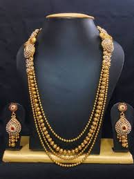 traditional gold gejje addige from of gold jewellery jewels