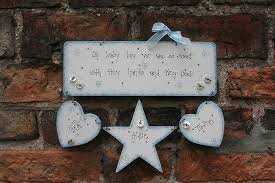 baby plaques personalised handmade baby boy birth plaque keepsake by primitive