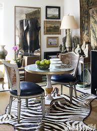 Zebra Print Dining Room Chairs 85 Best Dining Room Decorating Ideas And Pictures