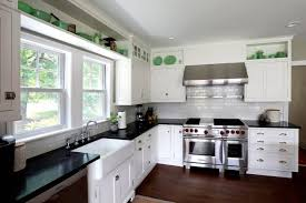 White Cabinets Dark Grey Countertops Cabin Remodeling Cabin Remodeling Light Gray Painteden Cabinets