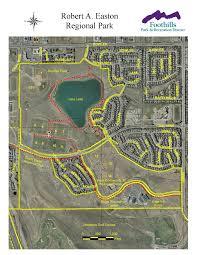 Littleton Colorado Map by Easton Regional Park Foothills Park U0026 Recreation District
