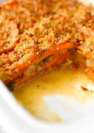 healthy sweet potato thanksgiving recipes skinny sweet potato gratin iowa eats