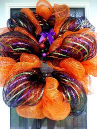Halloween Mesh Wreaths by What Kara Bakes U0026 Other Bits