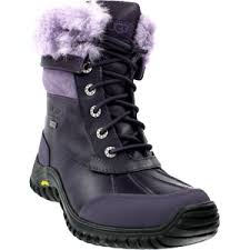 ugg australia s purple adirondack boots tis the season for waterproof boots from ugg australia footnotes
