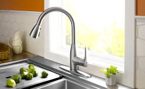 kitchen sink faucet sprayer wonderful stainless steel kitchen sink faucet mixed t with a