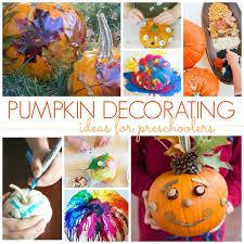 No Carve Pumpkin Decorating Ideas Pre K Pages
