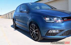 volkswagen polo body kit 2015 volkswagen polo gti review track test video