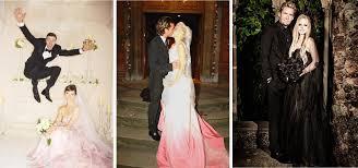 avril lavigne black wedding dress express yourself with a colorful wedding dress registryfinder com