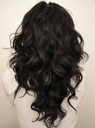 shoulder length layered natural curly haircuts with front and back pictures best 25 long curly haircuts ideas on pinterest curly hair
