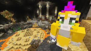 minecraft xbox wizard challenge battle mini game youtube