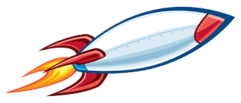 space rocket clipart 68