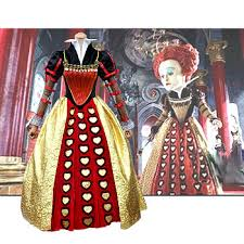 deluxe queen of hearts costumes deluxe theatrical quality