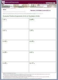 description download worksheet 22703 ccss math content 8 ee a 1
