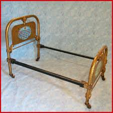 antique cast iron doll bed by the art bed co chicago il