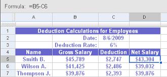 Spreadsheet Tutorial Docs Spreadsheet Formula Tutorial Computersresources