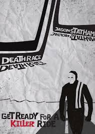 death race poster by jacooper1992 on deviantart