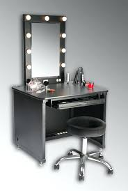 Makeup Vanity With Chair Vanities Lighted And Illuminated Professional Makeup Mirror