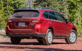 red subaru outback 2017 subaru outback 2 5i 2015 us wallpapers and hd images car pixel