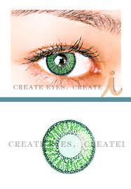 green double colored contacts pair g2 22 99 colored