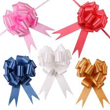 gift wrap bows aliexpress buy fengrise 30pcs 30mmx120cm pull bows wedding