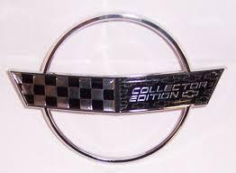 c4 corvette emblem 1996 corvette collectors edition nose emblem