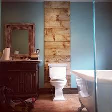 reclaimed wood bathroom wall home design mannahatta us