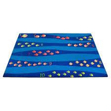 Funny Area Rugs Kid Carpet Classroom Blue Of Fish Rug Area Rugs Deep Blue