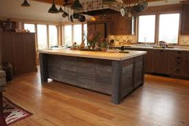 rustic kitchen islands amazing simple rustic kitchen island 15 reclaimed wood kitchen