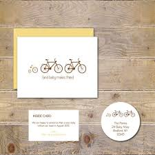 baby announcement cards pregnancy announcement cards bicycle baby announcements new