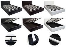 Faux Leather Bedroom Furniture Sets EBay - White faux leather bedroom furniture