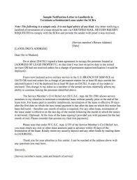 lease termination notice letter lease termination letter
