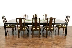 solid oak dining table and 8 chairs for sale size uk white room