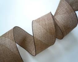 rustic ribbon etsy