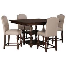 Kitchen Counter Table Design by Signature Design By Ashley Baxenburg 5 Piece Square Dining Room
